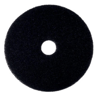 "17"" Black Floor Pads-0"