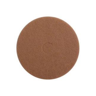 "15"" Tan Floor Pads-0"