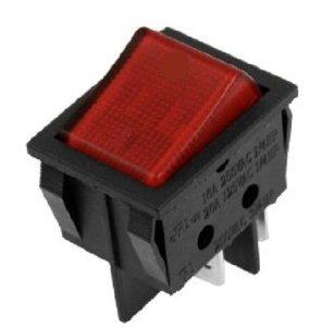 Red Neon Rocker Switch-0