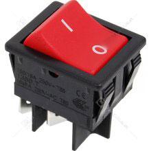 Numatic Red Rocker Switch-0