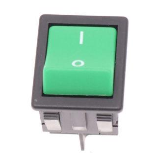 Numatic Green Rocker Switch-0