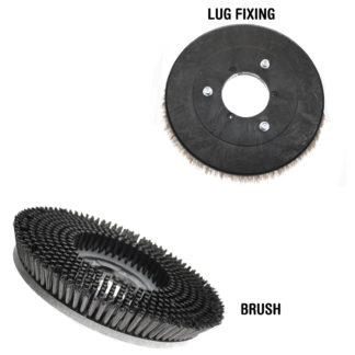 "Comac Abila 52 Scrub Brush 8""-0"