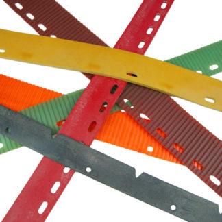 Cleanfix RA431E-RA431B/RA431IBC/RA501 Rear Squeegee Blade (Curved) Para Grey WCS No. SQCL029-0