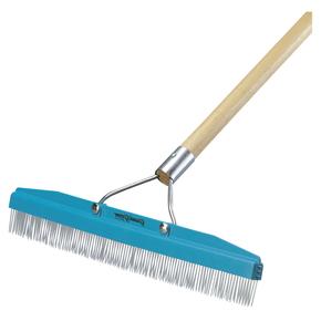 """18"""" Carpet Grooming Rake, Includes Handle -7397"""