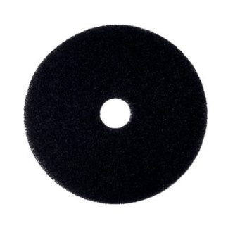 "13"" Black Floor Pads-0"