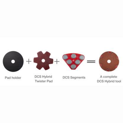 DCS Hybrid Segment, Red (Set of 6)-9294
