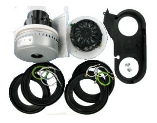 """14"""" Duplex Plastic Ametek Motor Replacement Kit - 2 Motors -0"""